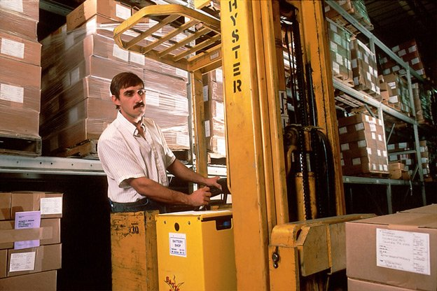 A traditional warehouse operator